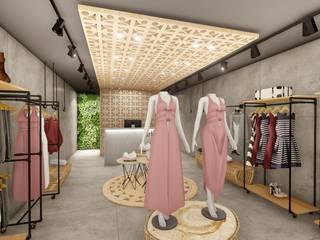 Loja Urban - Shopping: Shopping Centers  por 1LLAR Arquitetura,Rústico
