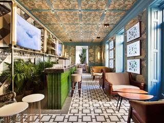 Diseño y decoración club moderno y clásico Bares y clubs de estilo clásico de Guille Garcia-Hoz, interiorismo y reformas en Madrid Clásico
