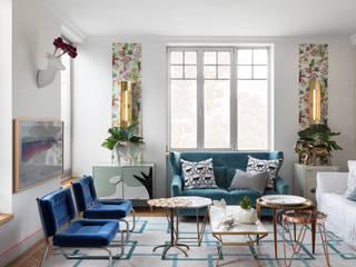 Living room by Guille Garcia-Hoz, interiorismo y reformas en Madrid