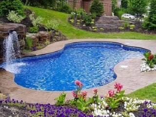 Gartenpool von Albercas Residenciales, Modern