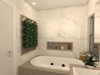 Revisite Modern bathroom White