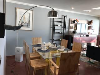 Reforma Departamento en Concón: Comedores de estilo  por Kaa Interior | Arquitectura de Interior | Santiago