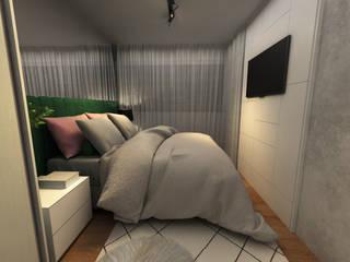 Minimalist bedroom by COB Arquitetura e Design Minimalist