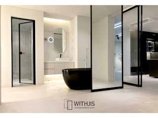 WITHJIS(위드지스) Modern bathroom Aluminium/Zinc Black
