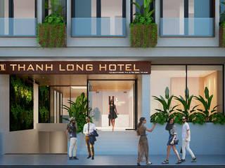حديث  تنفيذ thiết kế khách sạn hiện đại CEEB, حداثي