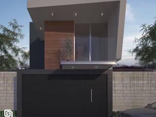 Diseño de casa habitación de casa de 165 m2 en Uruapan: Casas de estilo  por G+G ARQUITECTOS