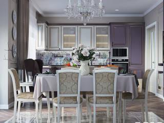 Дом: Кухни в . Автор – MK-design studio, Классический