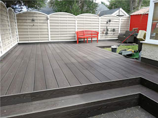 Coowin Composite decking project:  Front yard by Coowin Group