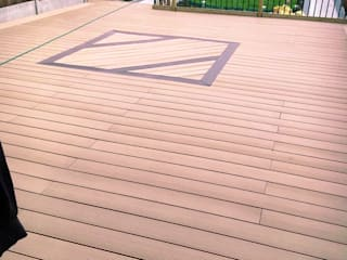 Coowin Composite decking project by Coowin Group Modern