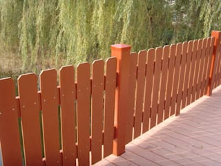 Composite fence and railing by Coowin Group