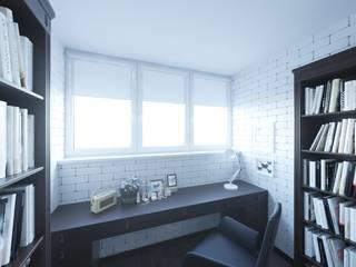 Интерьер трехкомнатной квартиры в г. Саратов. от F2project Минимализм