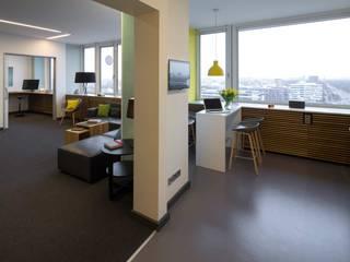 _WERKSTATT FÜR UNBESCHAFFBARES - Innenarchitektur aus Berlin Edificios de oficinas de estilo moderno