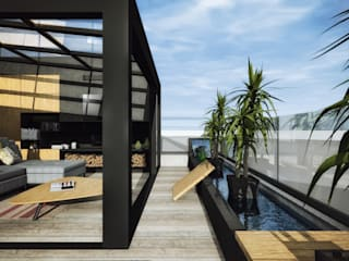 ofisvesaire  – M Çatı Katı // M Roof Top:  tarz Çatı teras