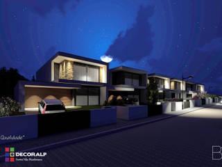 Casas do Tapado Grande: Condomínios  por Sérgio Bouça ,Moderno