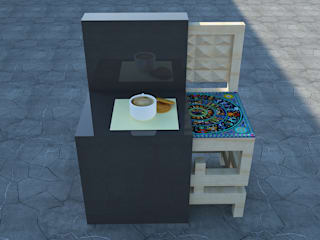 Diseño de mobiliario:  de estilo  por Zirtana