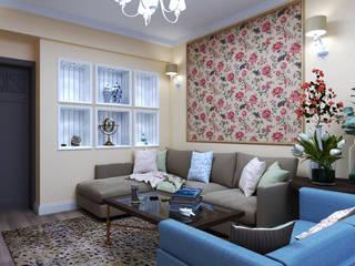 Дизайн квартиры в стиле Прованс от Студия Ольги Таракановой Эклектичный
