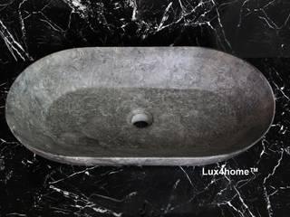 DEA - Owalna umywalka z marmuru: styl , w kategorii  zaprojektowany przez Lux4home™