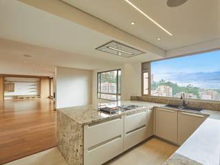 Remodelación de Apartamento en Bosque la Reserva Cocinas modernas de Sentido Interior Arquitectos Moderno