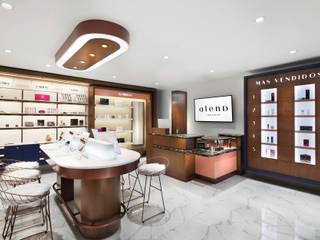 Tienda Alena Makeup de Sentido Interior Arquitectos Moderno