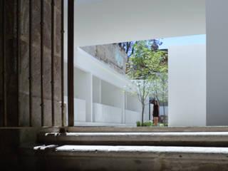 Mercado MC Espacios comerciales de estilo minimalista de HW Studio Arquitectos Minimalista