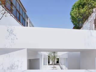 Mercado MC Gastronomía de estilo minimalista de HW Studio Arquitectos Minimalista