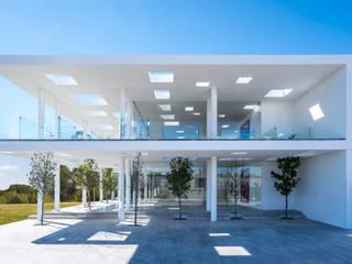 Casa JH: Oficinas y tiendas de estilo  por HW Studio Arquitectos