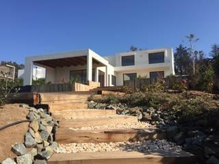Casa K-16 _ Marbella.: Casas unifamiliares de estilo  por Camps Arquitectura,