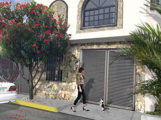 Remodelación de fachada y planos de remodelación en Sn Nicolas de los Garza, N.L. de Naax Arquitectos