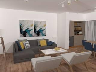Minimalist living room by JOM Diseño de Espacios Minimalist