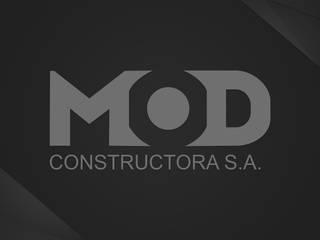 MOD: Casas de estilo  por MOD CONSTRUCTORA SA