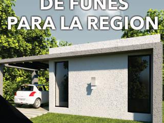 DE FUNES PARA LA REGION: Casas de estilo  por MOD CONSTRUCTORA SA
