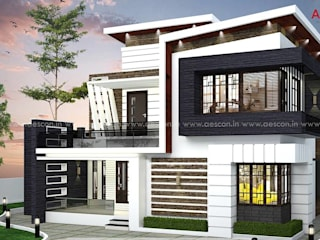 Asian style houses by Aescon Builders and Architects Asian