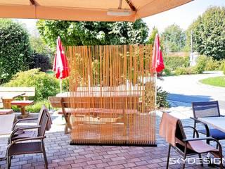 Gartengestaltung: Garten Sichtschutz von Skydesign:   von www.skydesign.news - Raumteiler aus Berlin - Sichtschutz Terrasse,