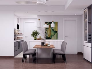 Scandinavian style dining room by Kiến trúc Doorway Scandinavian