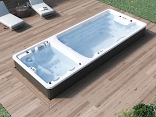 Swimspa Duo de Aquavia Spa Moderno