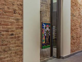 Xmas Arquitectura e Interiorismo para reformas y nueva construcción en Barcelona Couloir, entrée, escaliers classiques Briques Multicolore