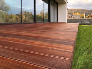 Roble Modern terrace Wood Brown