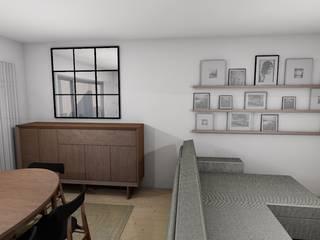 Apartamento Porto Decoração de Interiores por R&U ATELIER LDA Escandinavo