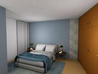 Quarto de Hotel Guimarães Remodelação e Decoração de interiores Hotéis clássicos por R&U ATELIER LDA Clássico