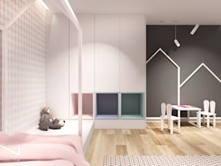 pokój dziecka od IN studio projektowania wnętrz Nowoczesny