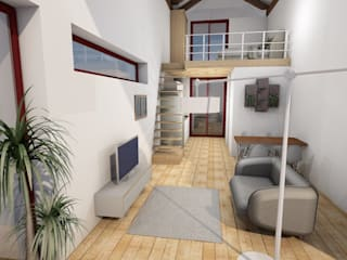 Reabilitação de moradia em Guimarães por R&U ATELIER LDA