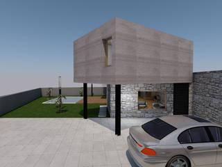 Projeto de Arquitetura de reabilitação e ampliação de moradia Guimarães por R&U ATELIER LDA
