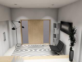 Decoração de interiores de Moradia T4 Aveiro por R&U ATELIER LDA