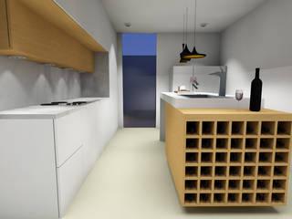Reabilitação e decoração de interiores de apartamento na Costa em Guimarães por R&U ATELIER LDA