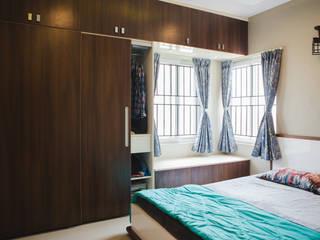 Bedroom Wardrobe - HomeLane.com:   by HomeLane.com