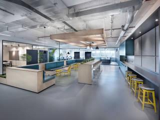 Husqvarna Group Office Design Moderne Bürogebäude von DITTEL ARCHITEKTEN GMBH Modern