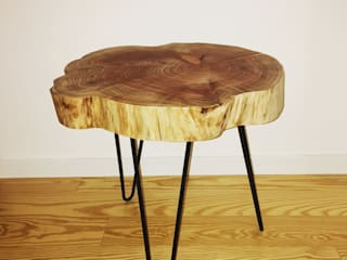 Mesa Tronco por woodlovers Rústico