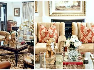 Phòng khách phong cách kinh điển bởi Joseph Avnon Interiors Kinh điển