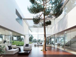 Corridor & hallway by Otto Medem Arquitecto vanguardista en Madrid
