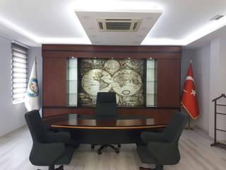 Karacabey Ticaret Borsası Başkan Odası Tefrişat Projesi Evidize - Şenel Güzel Klasik